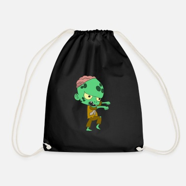 Pumpkin Halloween costumes children with motif - Drawstring Bag