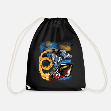 Birthday World Of Tanks Blitz Birthday Party - Drawstring Bag