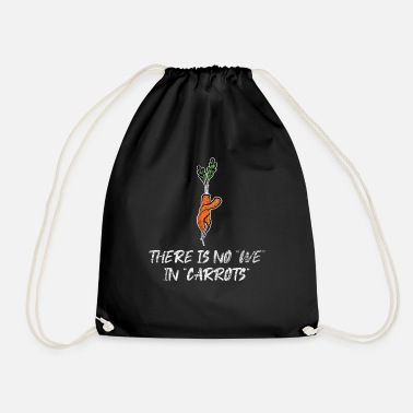 Root Crop Carrot vegetarian - Drawstring Bag