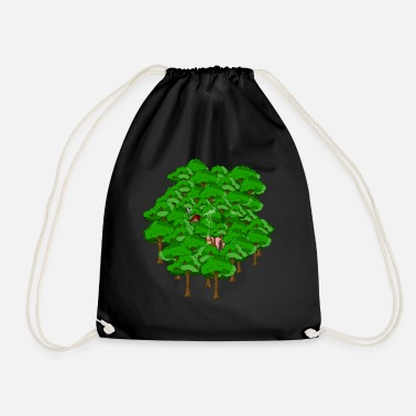 WITCH FOREST - Drawstring Bag