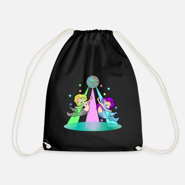 DANCING MERMAIDS - Drawstring Bag