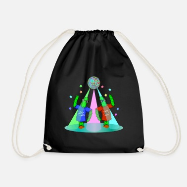 KAKTUS DISCO - KAKTEEN PARTY NIGHT - Drawstring Bag
