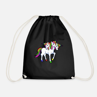 THREE-HORN - Drawstring Bag