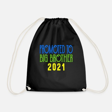 Xmas Promoted to Big Brother Shirt est 2021 Pregnancy - Drawstring Bag