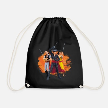 Zorro The Chronicles Ines Bernardo Don Diego - Drawstring Bag