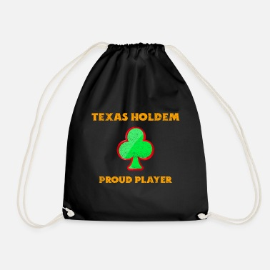 Texas Hold'em Texas Holdem Poker - Funny Poker, Texas Holdem - Sac à dos cordon