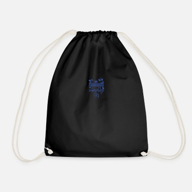 Welcome Summer - Drawstring Bag