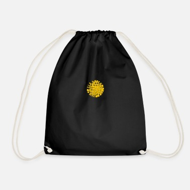 Pattern Pattern - Drawstring Bag
