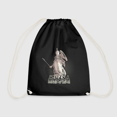 Griekse Mythologie Athena Goddess Of Wisdom Griekse mythologie T-shirt - Gymtas