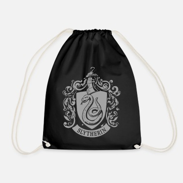 Harry Potter Slytherin Coat of Arms small - Gymnastikpåse