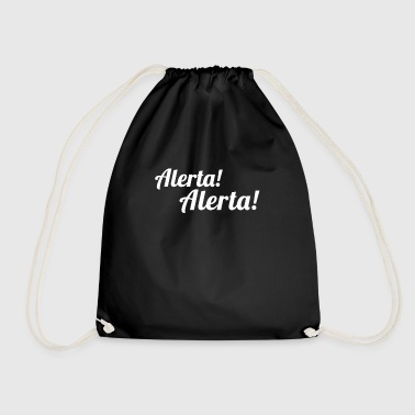 Molotow Alerta Alerta - Antifaschist - Antifa - Drawstring Bag