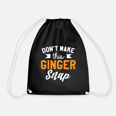 Provoke Do not provoke ginger - Drawstring Bag