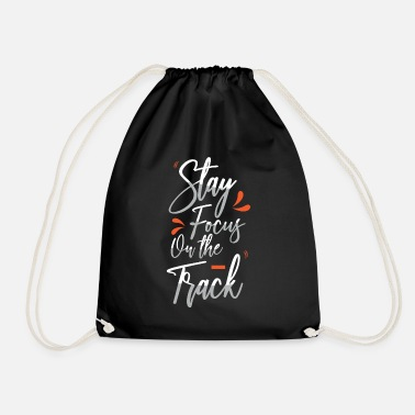 Rails Focus on the rails - Drawstring Bag