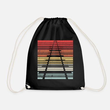 Railing Rails stripes - Drawstring Bag