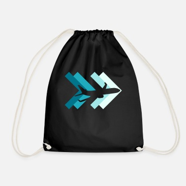 Airline Airline airport - Drawstring Bag