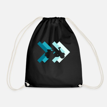 Moped Moped moped - Drawstring Bag