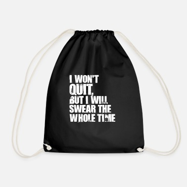 Workout workout - Drawstring Bag