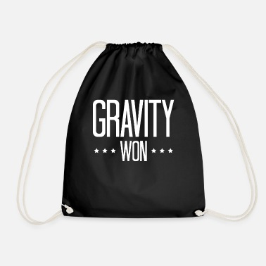 Accident Gravity WON t-shirt gift accident - Drawstring Bag