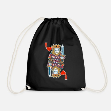 Chipleader Casino Poker Gambling Chipleader King Gift - Gymnastiktaske