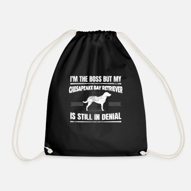 Doggie School Chesapeake Bay Retriever Dog Owner Doggie School - Drawstring Bag