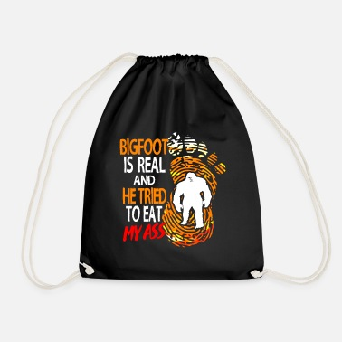 Legend Bigfoot Sasquatch Big Foot Fairy Tale Champion Yeti - Drawstring Bag
