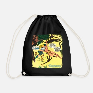 Tarzan Jane Old Comic Cover - Drawstring Bag