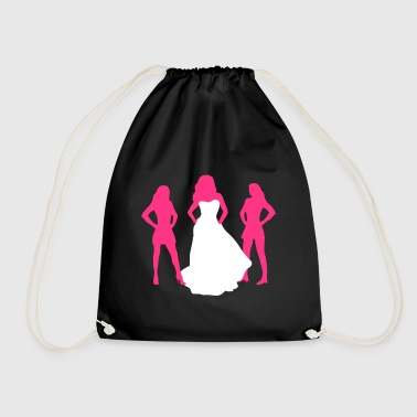 Bride, hen party, bachelorette party - Drawstring Bag