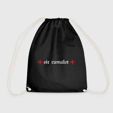 Sir cumalot - Drawstring Bag