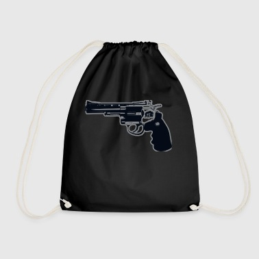 Revolver Gun - Drawstring Bag