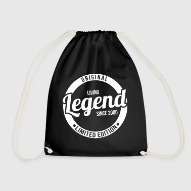 Living Legend since 2000 Living Legend Gift - Drawstring Bag