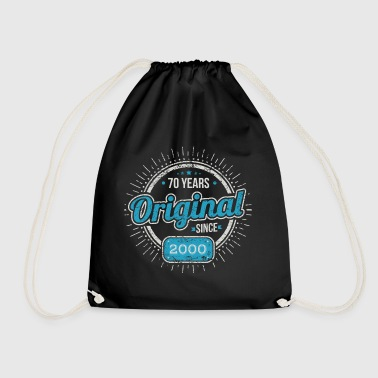 70th Birthday / Years: Original since 1948 Gift - Drawstring Bag