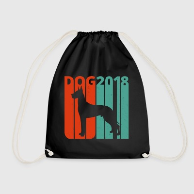 Retro Vintage Dog.Year of the Dog Gifts.Bestseller - Gymbag