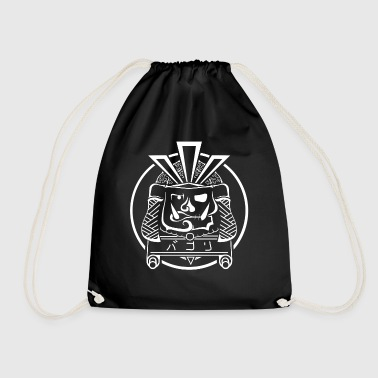 White Samurai - Drawstring Bag