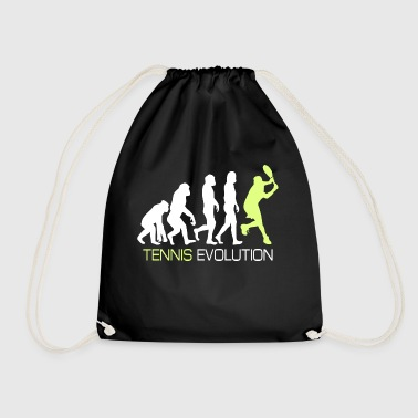 Evolustion - Tennis T Shirt Geschenk - Turnbeutel