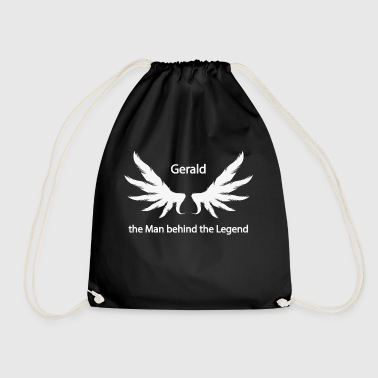 Gerald the Man behind the Legend - Drawstring Bag