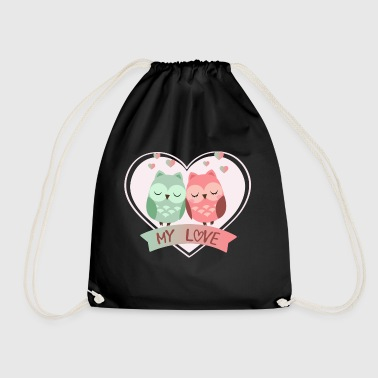 my love - Drawstring Bag
