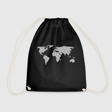 world map 146505 - Drawstring Bag
