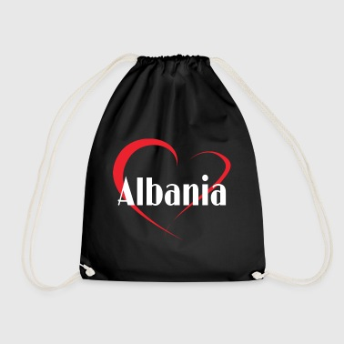 I love Albania - Drawstring Bag