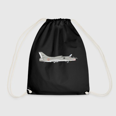 fighter jet - Drawstring Bag