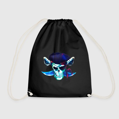 The ghost of the corsair - Drawstring Bag