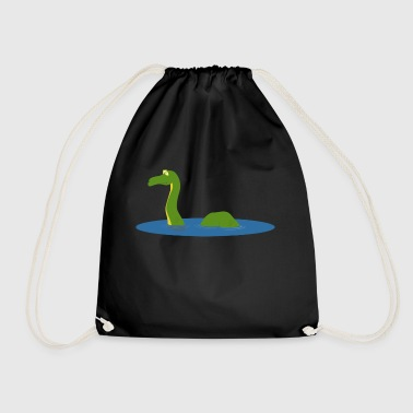 Lake monster sea - Drawstring Bag