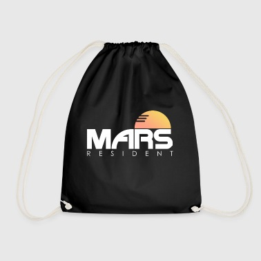 Mars inhabitants colonization - gift - Drawstring Bag