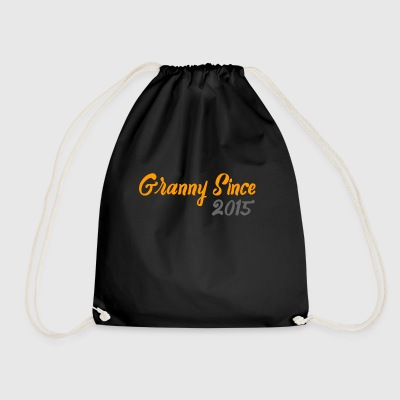 Granny since 2015 - Drawstring Bag