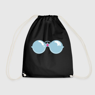 round star sunglasses 1112 - Drawstring Bag