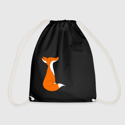 Fox - Drawstring Bag