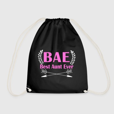 BAE - Best Aunt Ever - Drawstring Bag