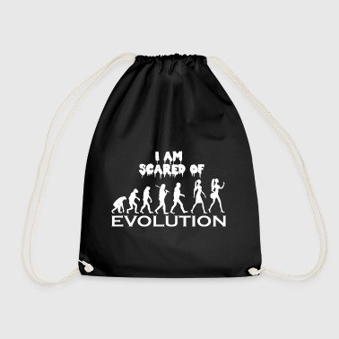 Evolution Woman Butt Buttwoman lustiges Geschenk - Turnbeutel