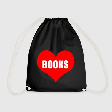 books - Drawstring Bag