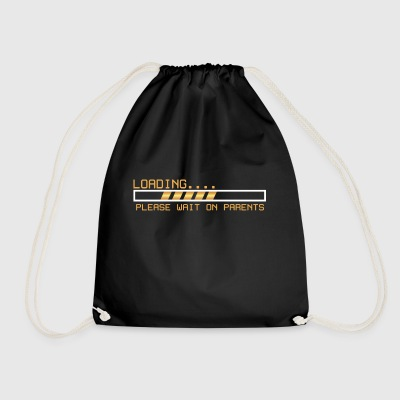 Loading / Toolbar waiting for parents gift - Drawstring Bag