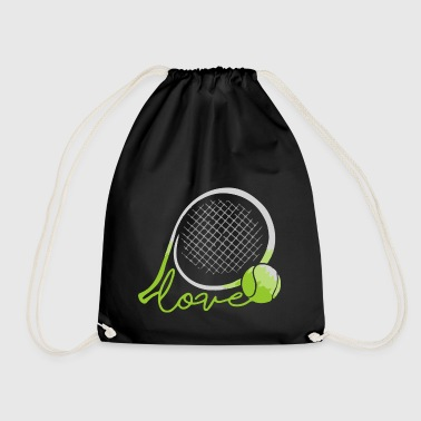 LOVE TENNIS - Drawstring Bag